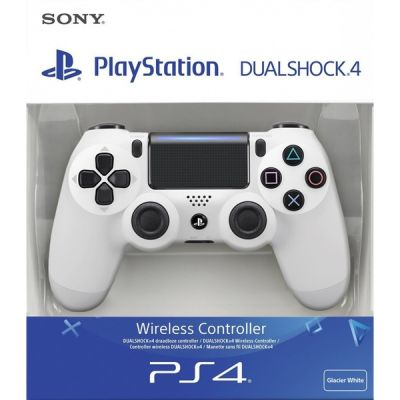 CONTROLLER PS4 wireless colore BIANCO WHITE DUALSHOCK 4 nuovo