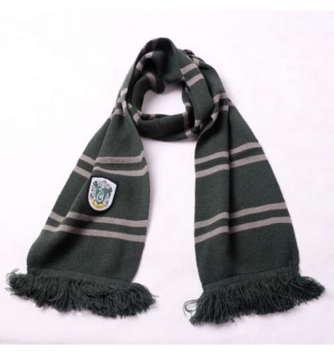Gadget Cinema HARRY POTTER SCIARPA FRANGE SERPEVERDE