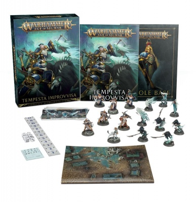 Games Workshop CITADEL - WARHAMMER AGE OF SIGMAR TEMPESTA IMPROVVISA STARTER SET