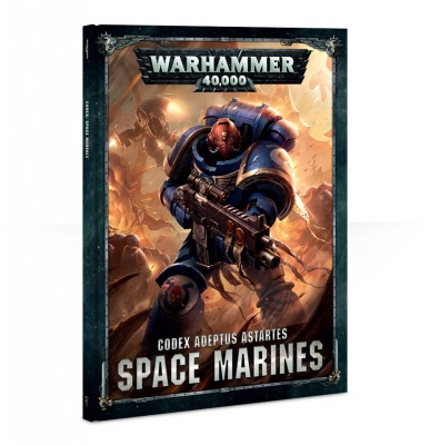 Games Workshop CITADEL - WARHAMMER CODEX ADEPTUS ASTARTES SPACE MARINES ITA