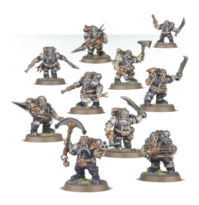 Games Workshop CITADEL - WARHAMMER KHARADRON OVERLORDS ARKANAUT COMPANY