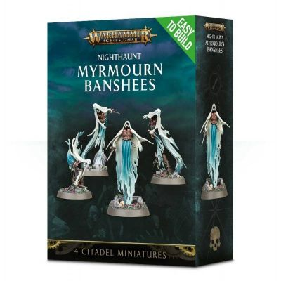 Games Workshop CITADEL - WARHAMMER NIGHTHAUNT MYRMOURN BANSHEES nuovo