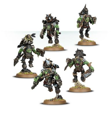 Games Workshop CITADEL - WARHAMMER ORKS ORK STORMBOYZ