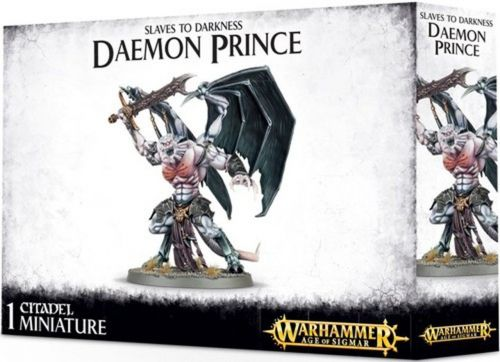 Games Workshop CITADEL - WARHAMMER SLAVES TO DARKNESS DAEMON PRINCE nuovo