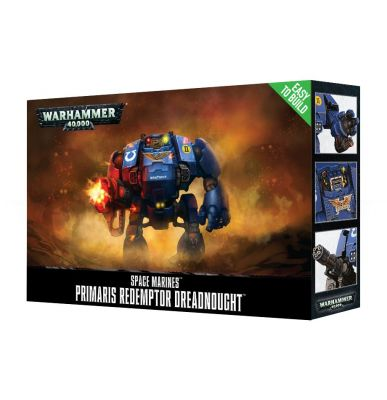 Games Workshop CITADEL - WARHAMMER SPACE MARINES PRIMARIS REDEMPTOR DREADNOUGHT