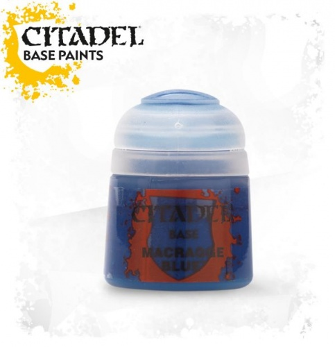 Games Workshop WARHAMMER/CITADEL boccetta colore acrilico 12 ml MACRAGGE BLUE