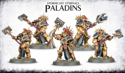 Games Workshop WARHAMMER STORMCAST ETERNALS PALADINS (AGE OF SIGMAR) nuovo