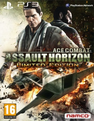 Gioco PS3 usato garantito ACE COMBAT ASSAULT HORIZON LIMITED EDITION multilingue