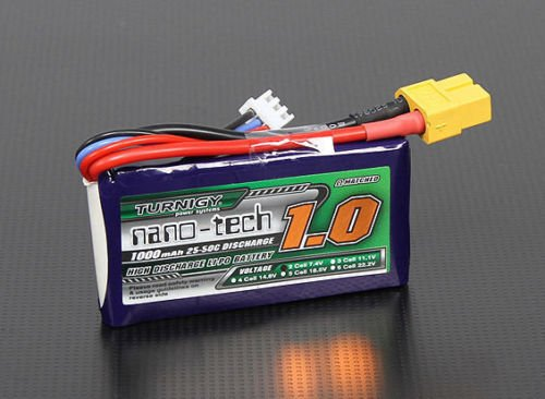 SOFTAIR BATTERIA LIPO TURNIGY NANO-TECH 1000 MAH 25-50C 7.4 V