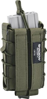 SOFTAIR DEFCON 5 D5-LAS M4LCS OD TASCHINA M4 PER SUPPORTI A MOLLE VERDE OLIVA