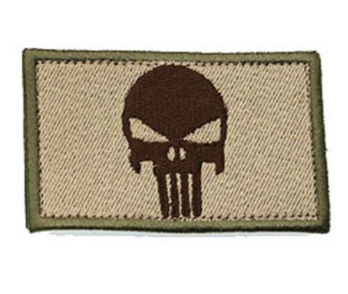 SOFTAIR PATCH toppe velcro THE PUNISHER rettangolari bassa visibilità