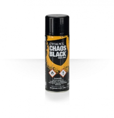 Spray Chaos Black Nero